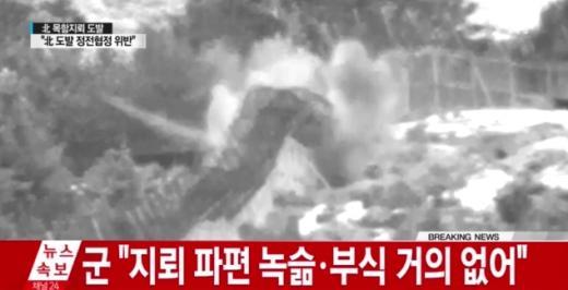 '지뢰 폭발사고' /사진=YTN뉴스 캡처