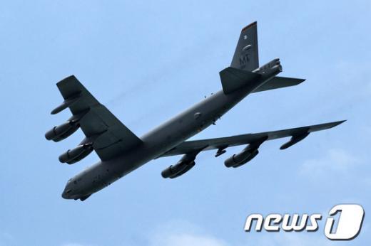 미군 B-52 폭격기. /사진=뉴스1(AFP 제공)
