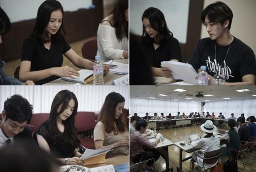 """'유일랍미', 이태임 오창석 이민영 첫 대본리딩 """"화기애애"""""""