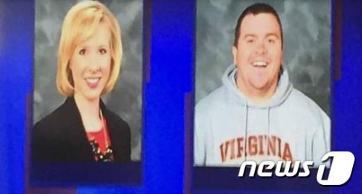 방송기자 앨리슨 파커(왼쪽)와 카메라기자 애덤 워드. /자료사진=뉴스1(WDBJ7 제공)