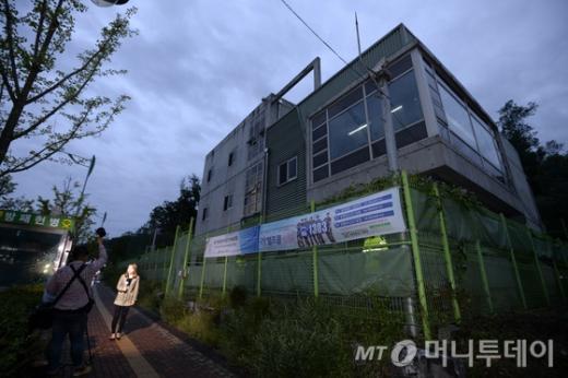 '경찰 총기사고' 사건이 벌어진 구파발 검문소 모습. /사진=머니투데이