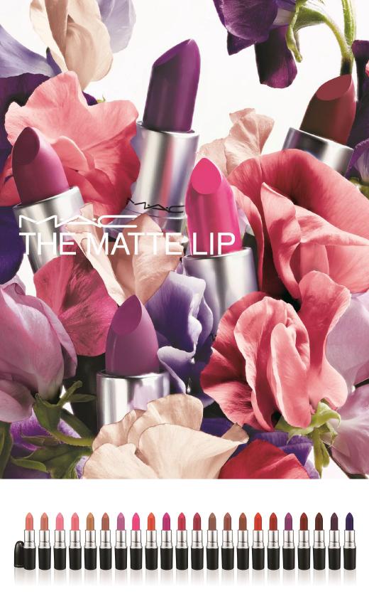 맥, 가을 립 메이크업을 위한 립스틱 컬렉션 '더 매트립' 출시
