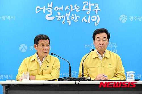 이낙연 전남도지사 직무수행평가 3위, 윤장현 광주시장도 2계단 상승