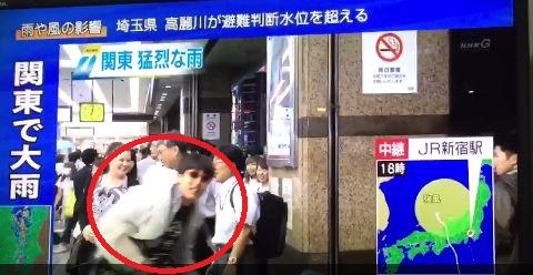 '일본 태풍' /사진=트위터 영상 캡처
