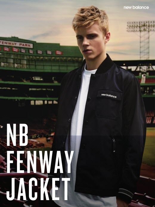 뉴발란스, '펜웨이 자켓(FENWAY JACKET)' 출시… '펜웨이 파크'에서 영감