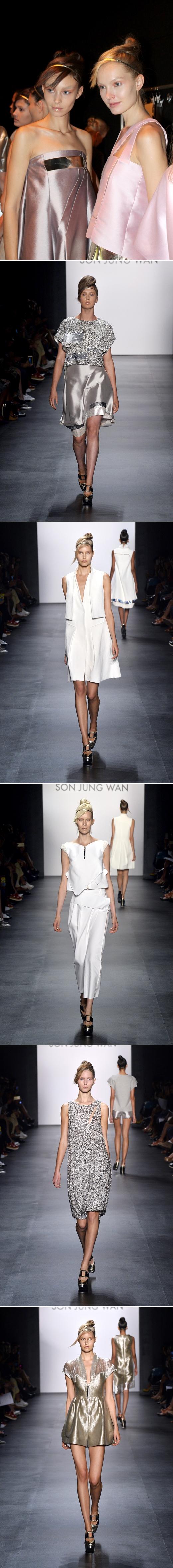 디자이너 손정완,뉴욕 2016 S/S 컬렉션…제주 바다 재해석