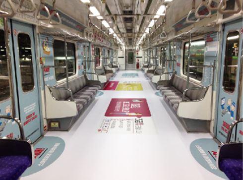 7호선 시민건강열차. /자료사진=서울도시철도공사
