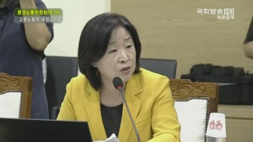 '심상정 국정감사' '심상정 의원' /사진=국회방송 캡처