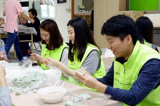 금호터미널, 추석맞이 사회복지시설 봉사활동