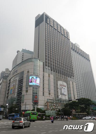 서울 중구 소공동 롯데백화점. /자료사진=뉴스1