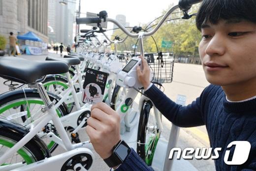 '서울 공공자전거' /사진=뉴스1 구윤성 기자