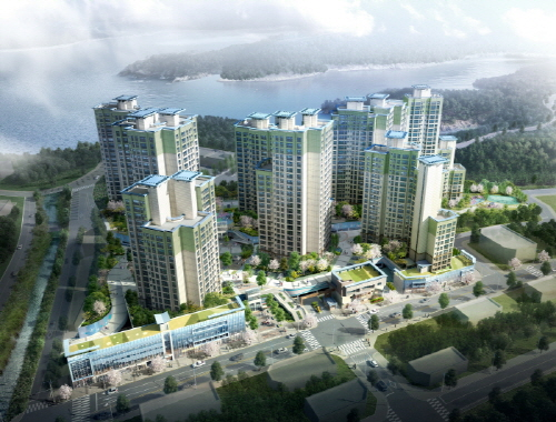 지역주택조합의 명가 한양건설 '은파 한양수자인'선봬