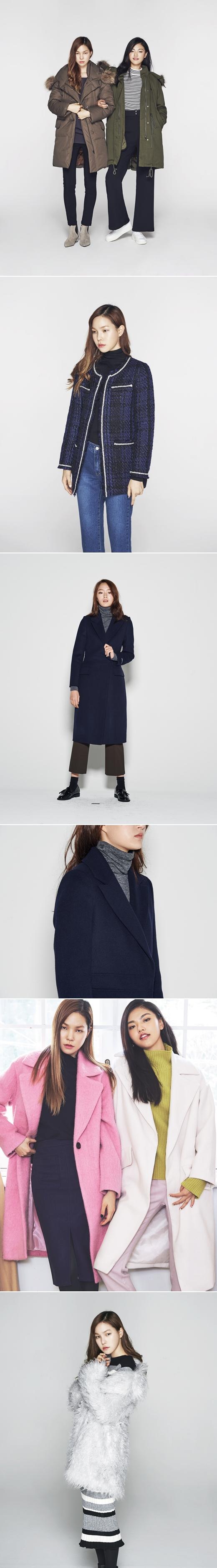"""나인,겨울 아우터 출시…""""코트·야상·트위드 재킷, 없는게 없네"""""""