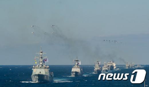 '해군관함식' /사진=뉴스1 제공