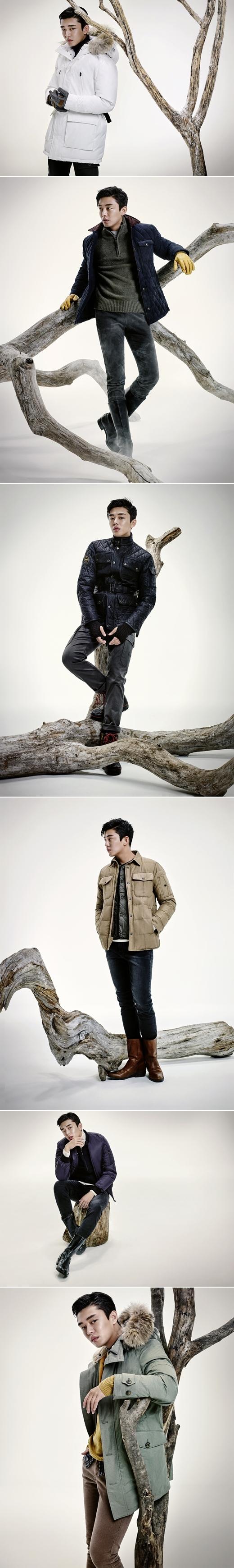 지프브랜드, 유아인 화보 공개…'퍼스트 어반' 테마