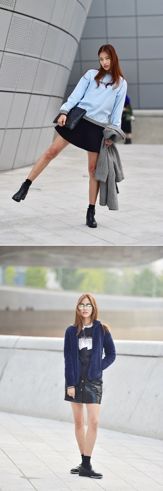 황현주, 상큼 발랄한 스트리트 룩 공개