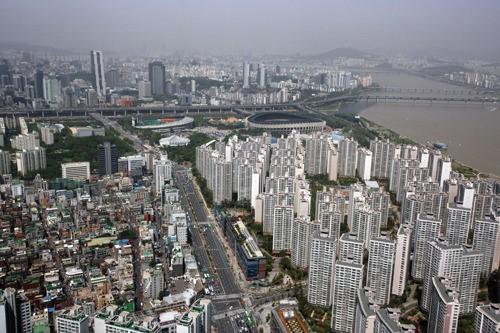 서울 한 아파트단지 전경. 사진=머니위크DB