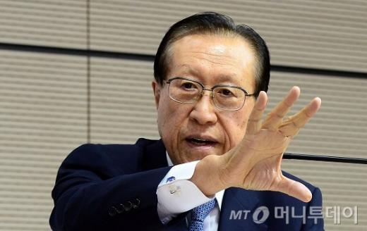 김정배 국사편찬위원장. /자료사진=머니투데이DB