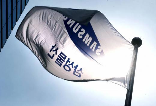 서울 서초구 삼성물산 본사 앞 깃발이 바람에 펄럭이고 있다./사진=머니투데이DB