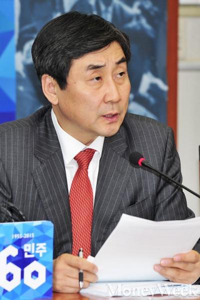 이종걸 새정치민주연합 원내대표. /자료사진=임한별 기자