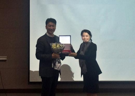 신세계톰보이, 한국의류산업학회 우수기업상 수상