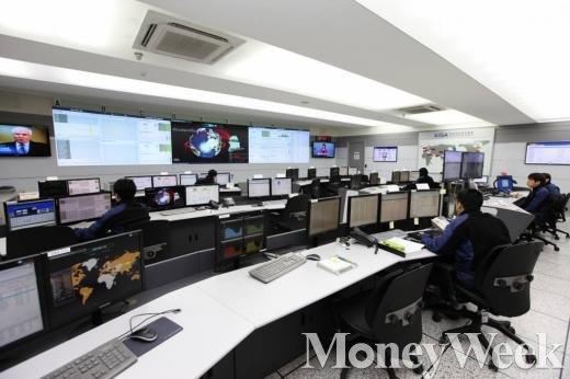 한국인터넷진흥원(KISA)의 인터넷 침해대응 센터(KISC) 사진. /자료사진=머니위크DB