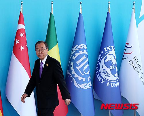 반기문 유엔 사무총장 /사진=뉴시스