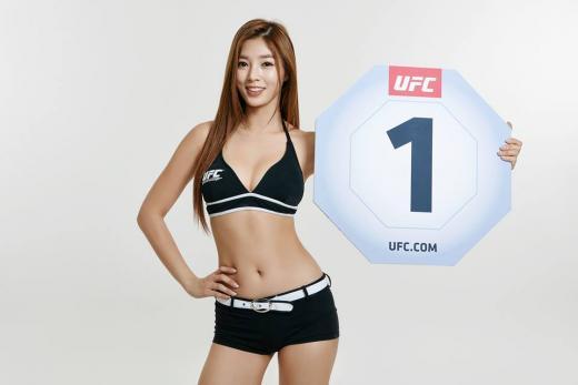 유승옥, 'UFC 서울' 옥타곤 걸로 최종 발탁