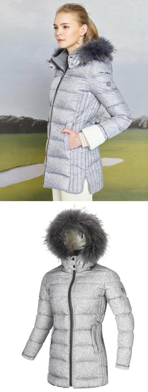 헤리토리 골프, 3D 입체 패턴 '스노우 다운점퍼' 출시