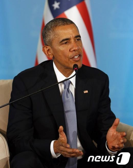버락 오바마 미국 대통령. /사진=뉴스1(AFP)