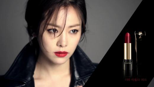 한지민, 립스틱 화보 공개…'청순부터 도발까지'