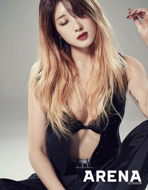 나인뮤지스 현아, 섹시화보 공개…남친 셔츠 입은 여친 콘셉트
