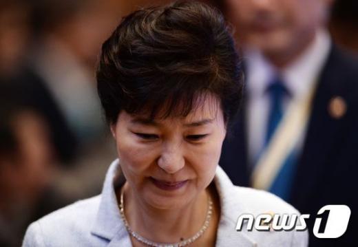 박근혜 대통령. /사진=뉴스1(AFP 제공)