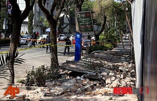 '멕시코 지진' /사진=뉴시스(AP 제공)