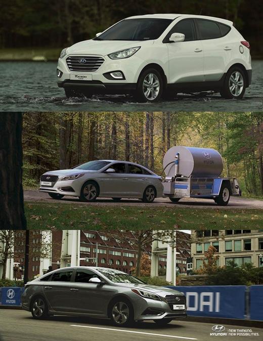 현대차, '친환경차와 함께 철인 3종경기' 글로벌 동영상 선보여