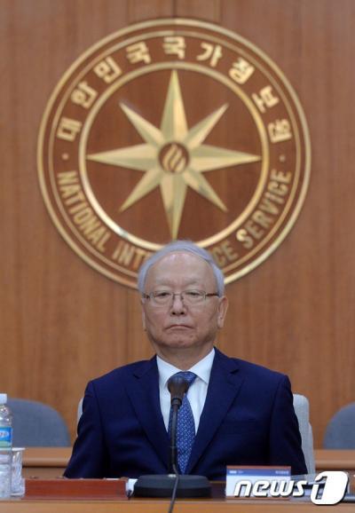이병호 국가정보원장(사진은 기사 내용과 무관). /자료사진=뉴스1