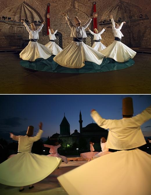 평화·사랑·관용의 상징 '메블라나 루미 축제', 터키 콘야에서 개최