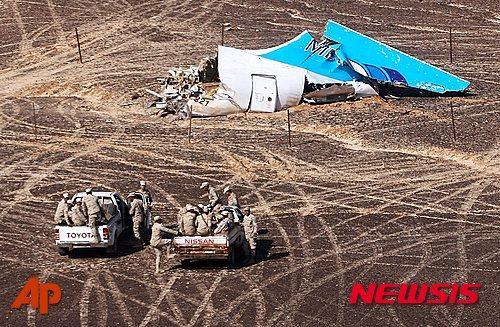 지난 10월 IS에 의해 일어난 러시아 여객기 테러. /사진=뉴시스(AP제공)