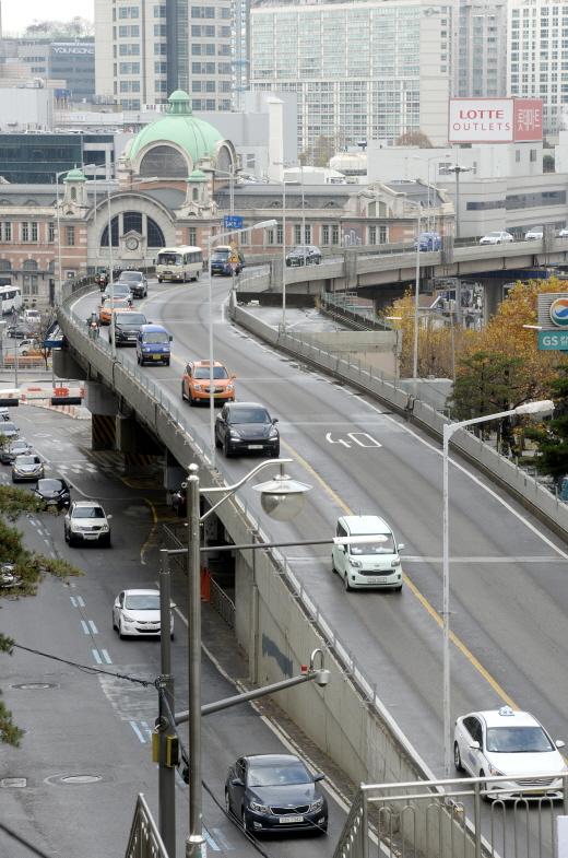 서울역 고가도로. /사진=뉴스1