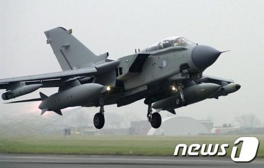 영국 공군 토네이도 GR4 전투기. /사진=뉴스1(AFP)