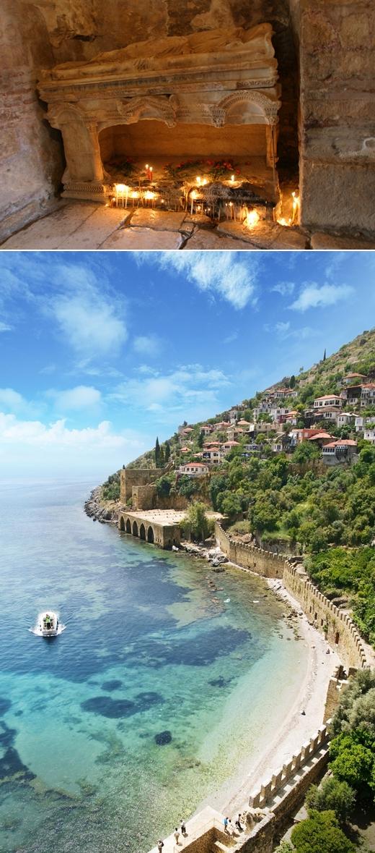 터키 안탈리아, 산타클로스의 원조 성 니콜라스의 고향