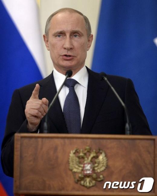 '블라디미르 푸틴 러시아 대통령' /사진=뉴스1 (AFP 제공)