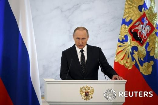 블라디미르 푸틴 러시아 대통령. /자료사진=뉴스1(로이터 제공)