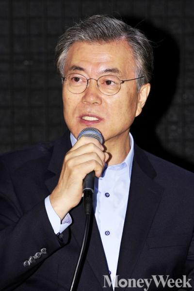 '문재인 안철수' 새정치민주연합 문재인 대표. /자료사진=임한별 기자