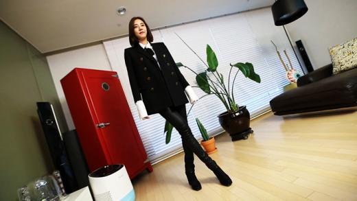 '립스틱이 100여개?'…'스타그램', 손담비 집 공개