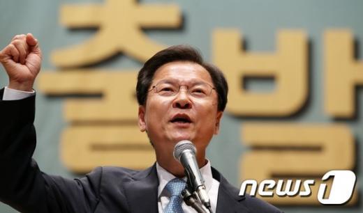'김동철 탈당' 사진은 무소속 천정배 의원. /사진=뉴스1