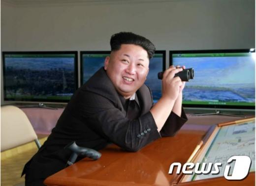 북한 김정은 노동당 제1비서. /자료사진=뉴스1(노동신문 제공)