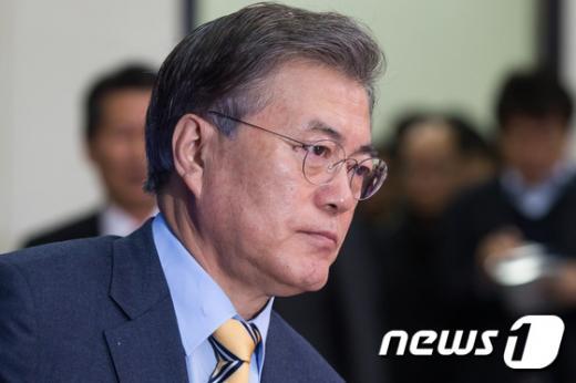 '더불어민주당' 문재인 더불어민주당 대표. /자료사진=뉴스1
