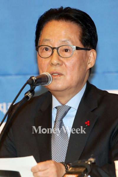 '박지원 의원' 더불어민주당 박지원 전 원내대표. /자료사진=임한별 기자