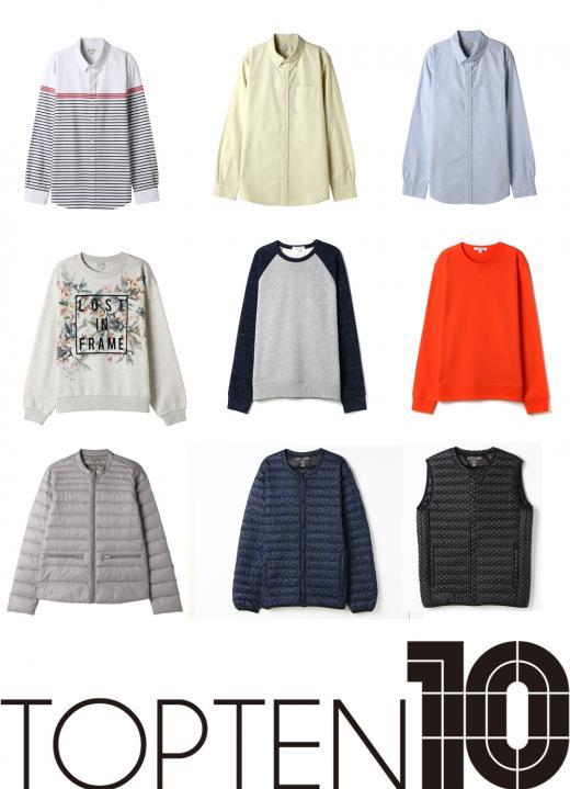 탑텐, 16SS 시즌 신상품 출시…맨투맨 티셔츠와 옥스포드 셔츠 등